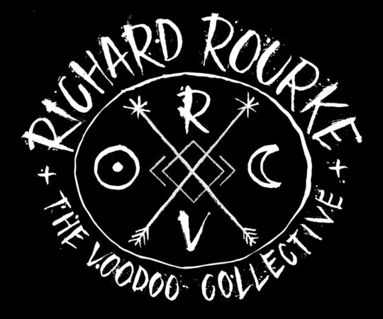 Letterings For Richard Rourke & The Voodoo Collective